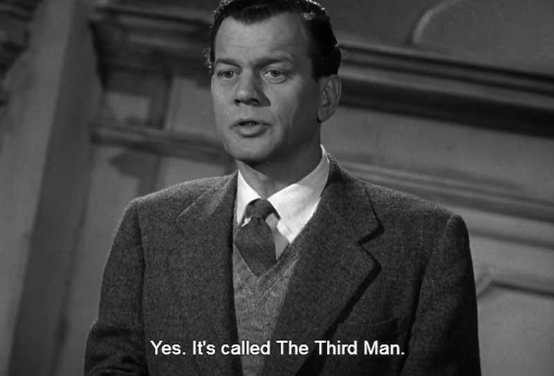 A Book the Third Man