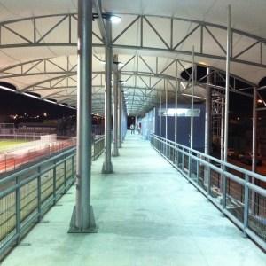 Cubierta tensada Estadio Canadela