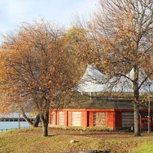 Cubierta tensada Feria Artesanal Lago Ranco