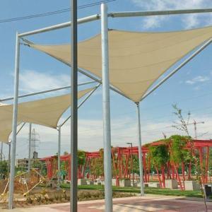 Velas de Sombra Parque La Aguada.