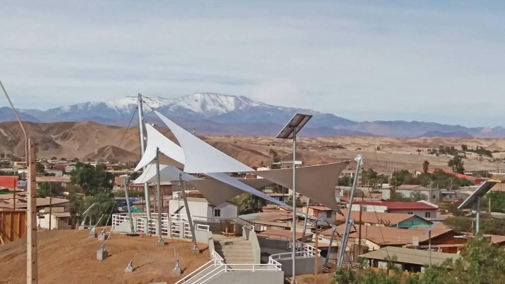 Tensoestructuras Cerro Colipi, Diego de Almagro