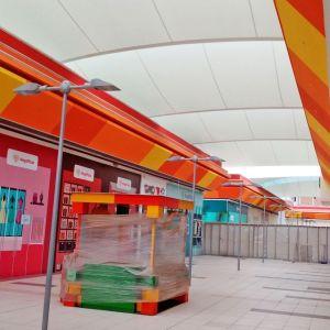 Tensoestructuras Mall Mega Plaza