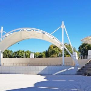 Cubierta Tensada Anfiteatro & Escenario Estero Piduco