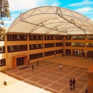Cubierta tensada Liceo Artístico Armando Dufey