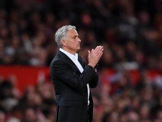 José Mourinho en el Manchester United
