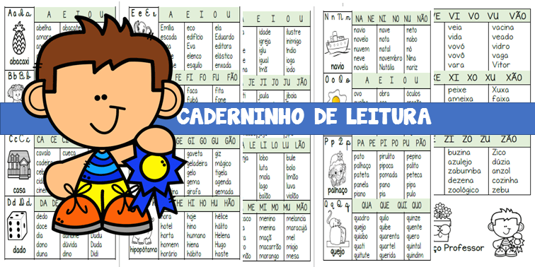 CADERNO DE LEITURA
