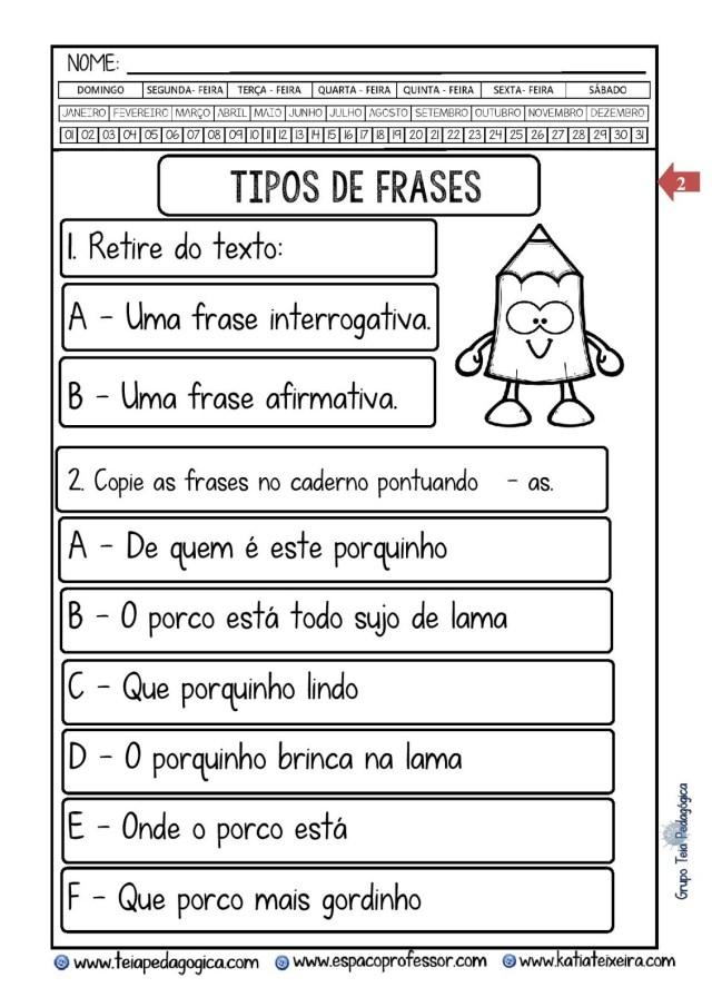PORCO-PORQUINO-POCAO-Copia-2.doc-page-002-724x1024 Atividade tipo de frases com  interpretação