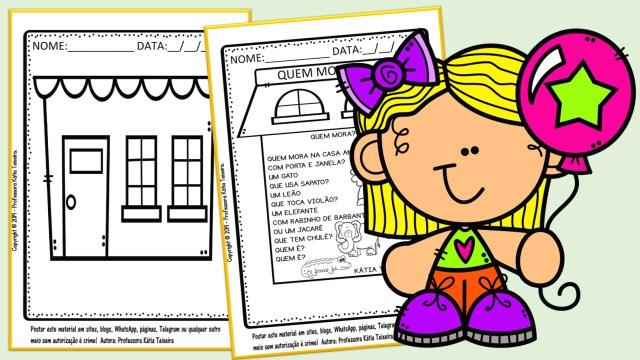 29 páginas de atividades para a educação infantil