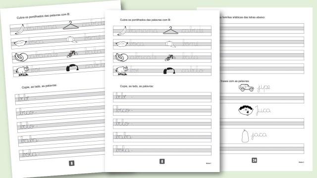 Apostilas de caligrafia para baixar em pdf