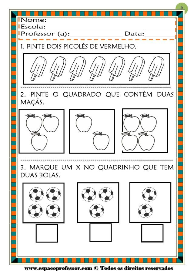 CADERNO-1-NUMEROS-DE-0-A-9-page-009 50 atividades de matemática  educação infantil