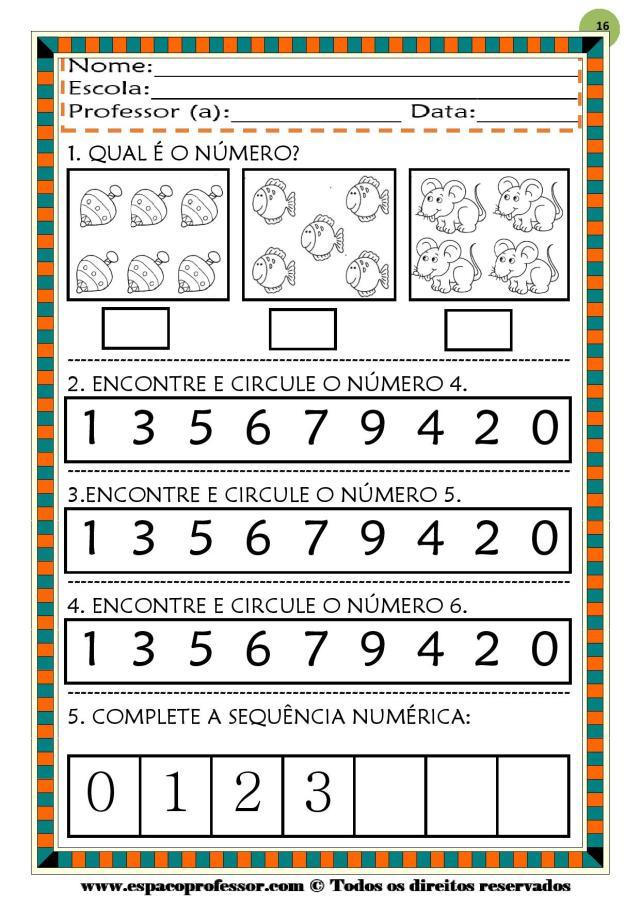 CADERNO-1-NUMEROS-DE-0-A-9-page-016 50 atividades de matemática  educação infantil