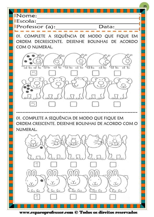 CADERNO-1-NUMEROS-DE-0-A-9-page-025 50 atividades de matemática  educação infantil