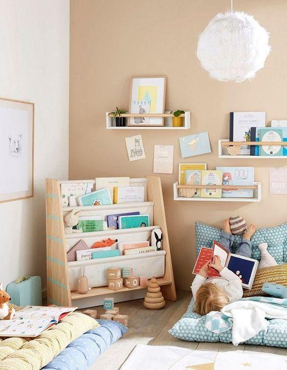 Sugestões-para-cantinhos-de-leitura-13 30 Sugestões para cantinhos de leitura em casa ou na escola