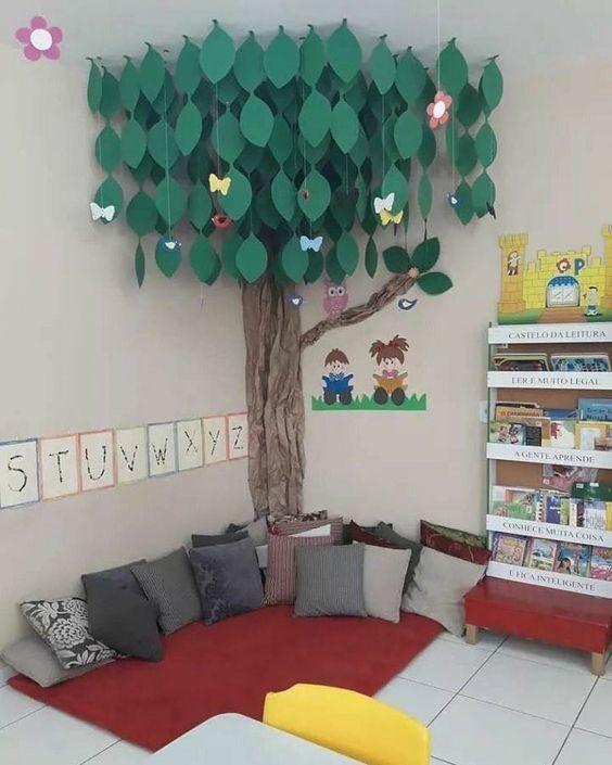 Sugestões-para-cantinhos-de-leitura-2 30 Sugestões para cantinhos de leitura em casa ou na escola