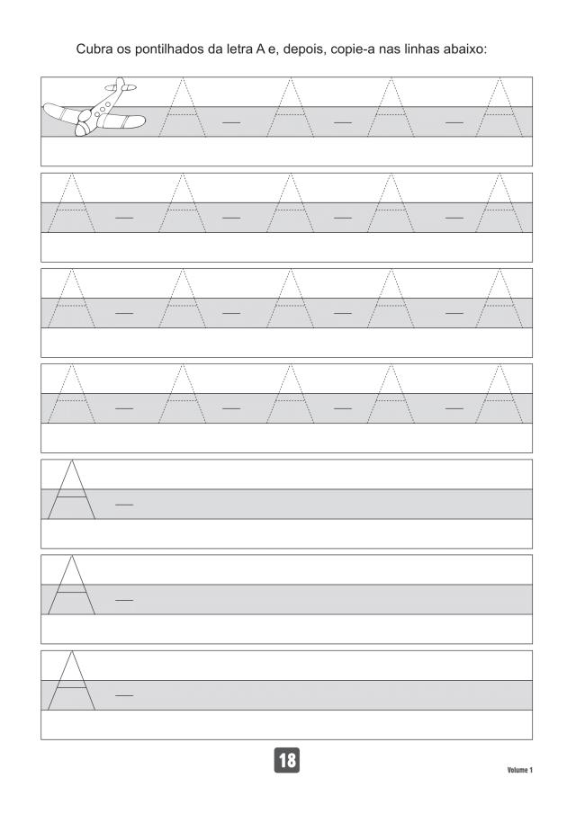 VOLUME1-18 49 Atividades de caligrafia letra bastão