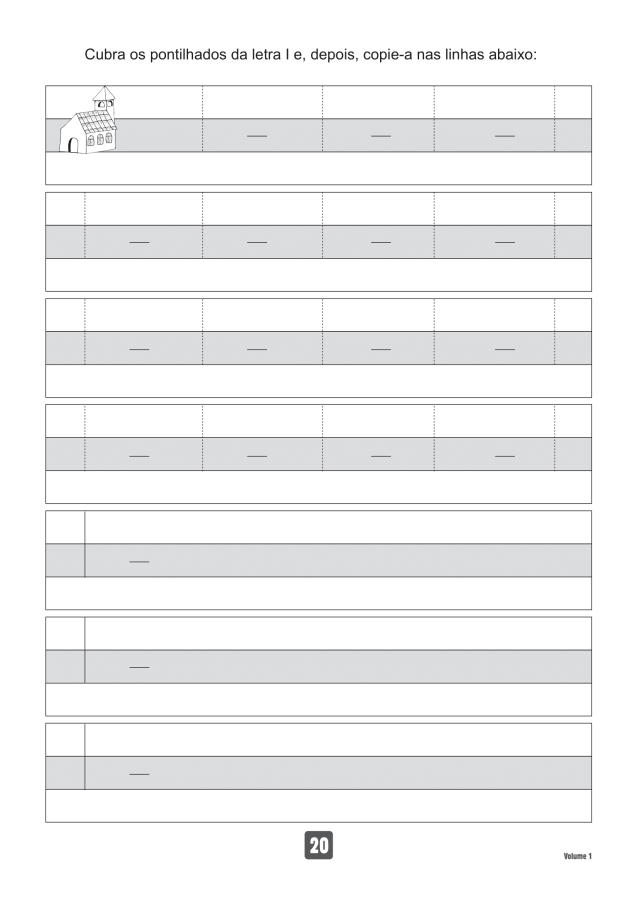VOLUME1-20 49 Atividades de caligrafia letra bastão