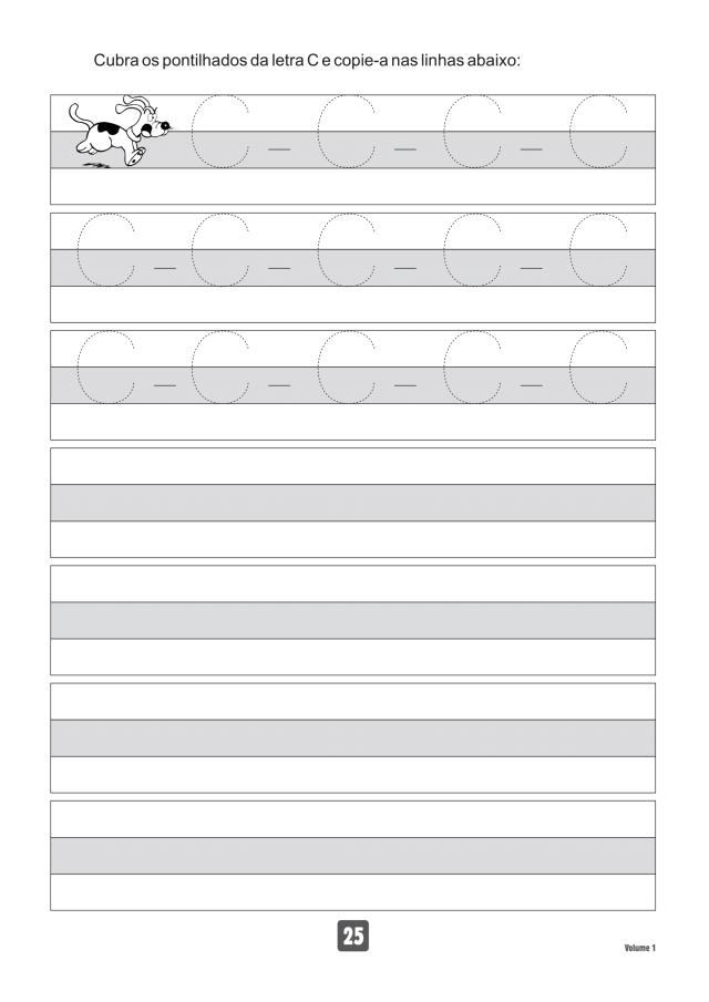 VOLUME1-25 49 Atividades de caligrafia letra bastão