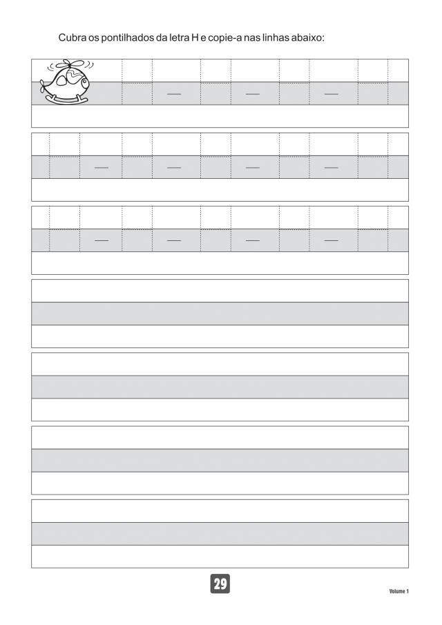 VOLUME1-29 49 Atividades de caligrafia letra bastão