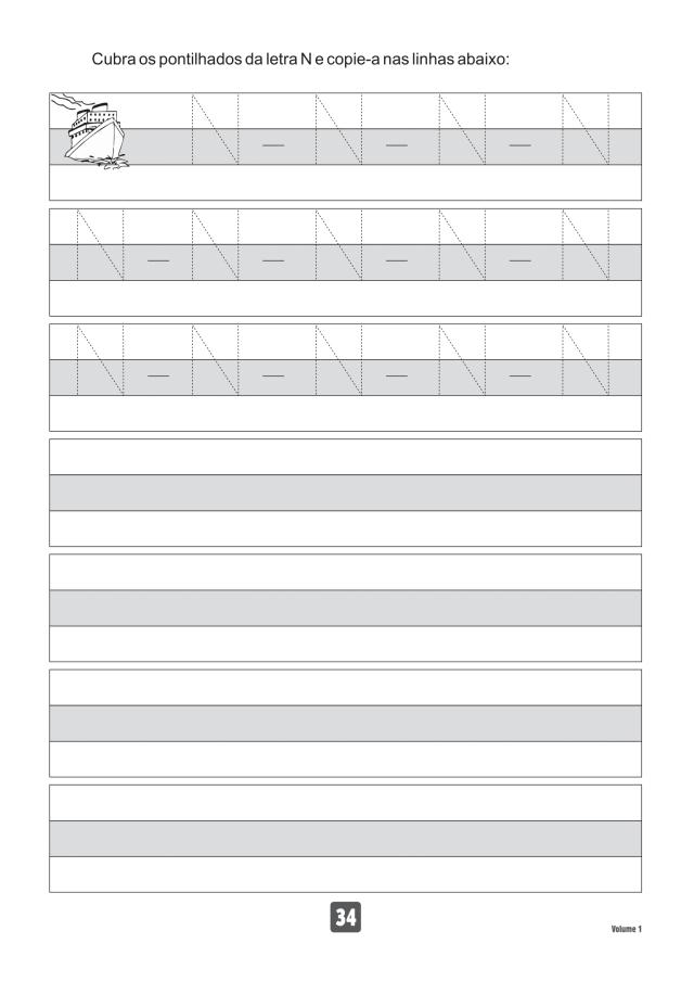 VOLUME1-34 49 Atividades de caligrafia letra bastão