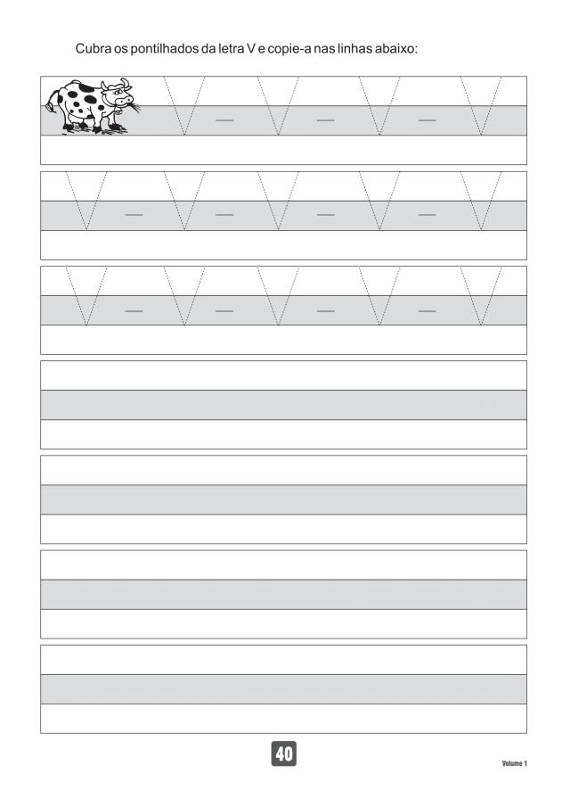 VOLUME1-40 49 Atividades de caligrafia letra bastão