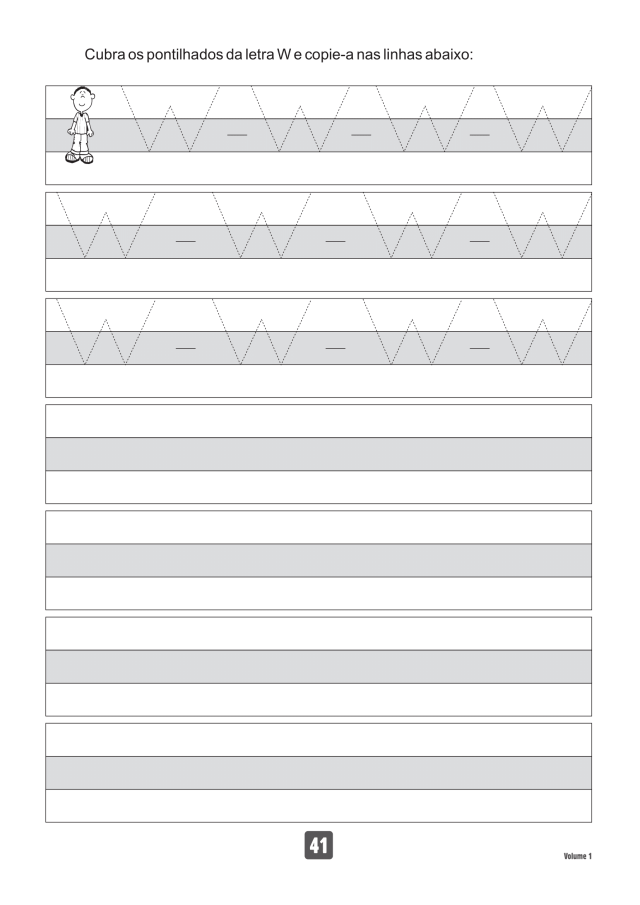 VOLUME1-41 49 Atividades de caligrafia letra bastão