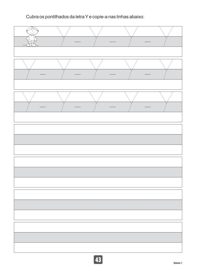 VOLUME1-43 49 Atividades de caligrafia letra bastão