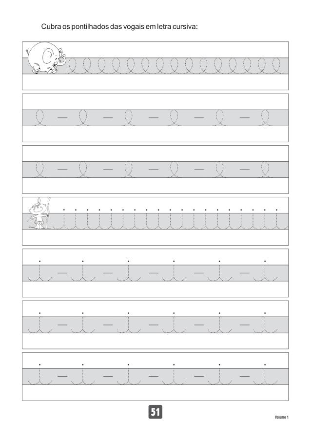 VOLUME1-51 49 Atividades de caligrafia letra bastão