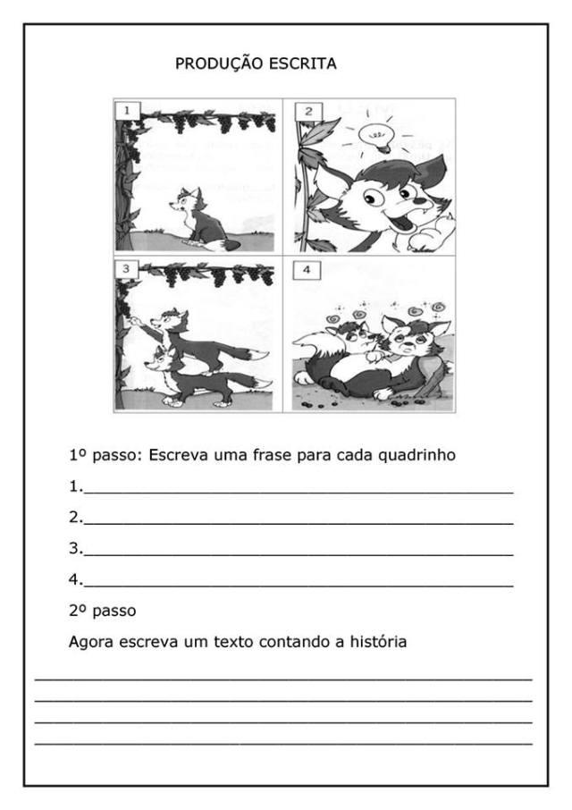 ATIVIDADES-COM-O-TEXTO-DA-RAPOSA-EA-UVA-2 Leitura e interpretação A raposa e as uvas