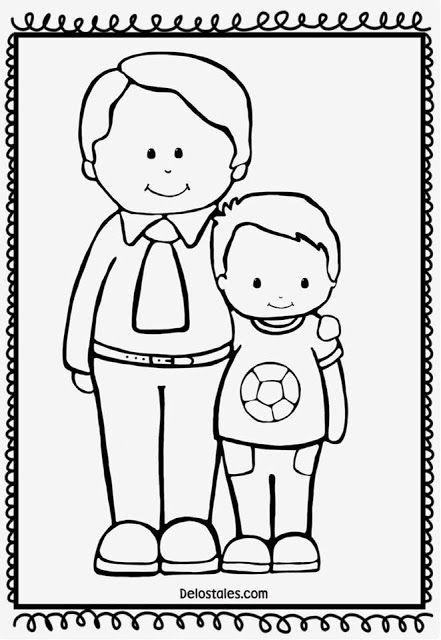 15 Atividades Dia dos pais para colorir
