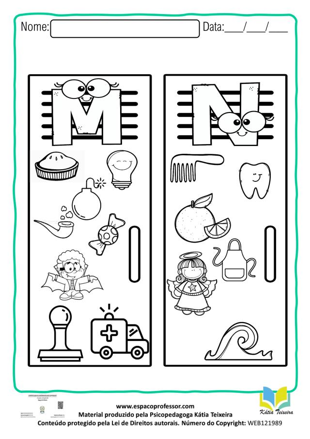 Ortografia M antes de P e B - Atividade interativa para baixar
