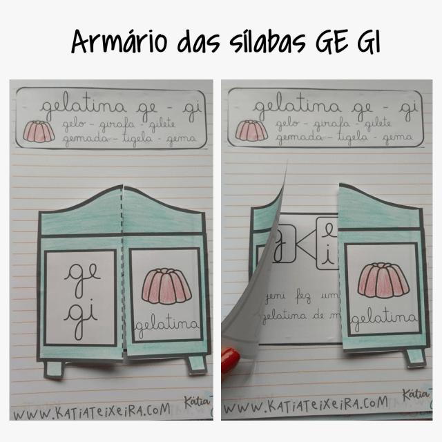 Atividade de alfabetização GE - GI – Atividade interativa
