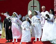 """A cruz dos """"catolicos"""""""