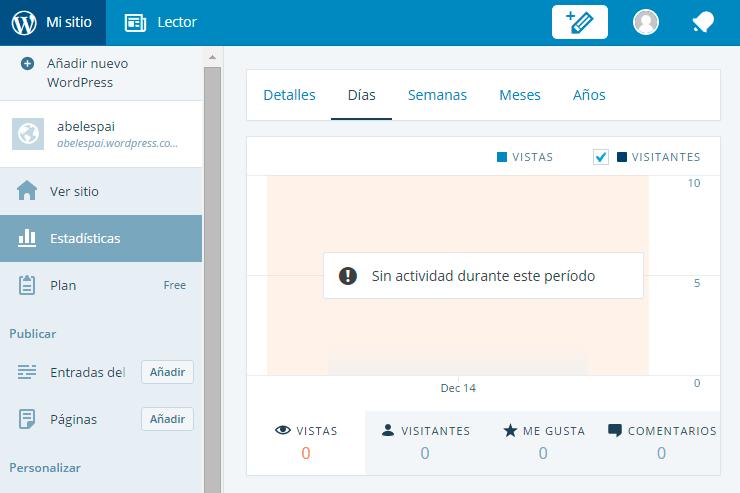 Nuevo interfaz de WordPress
