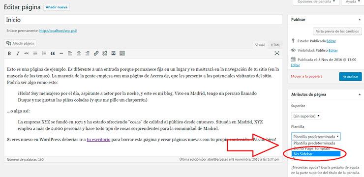 Como crear un tema de WordPress desde cero (sin saber PHP) - 1 ...