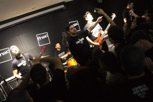 "Showcase de ""Luto"" na Fnac Colombo"