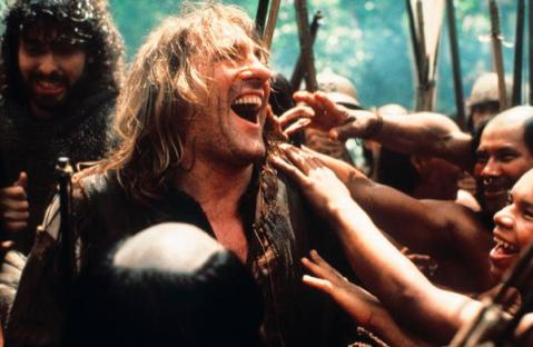 TITLE: 1492 CONQUEST OF PARADISE • PERS: DEPARDIEU, GERARD • YEAR: 1992 • DIR: SCOTT, RIDLEY • REF: FOU049AF • CREDIT: [ THE KOBAL COLLECTION / DUE WEST-LEGEND-CYRK ]