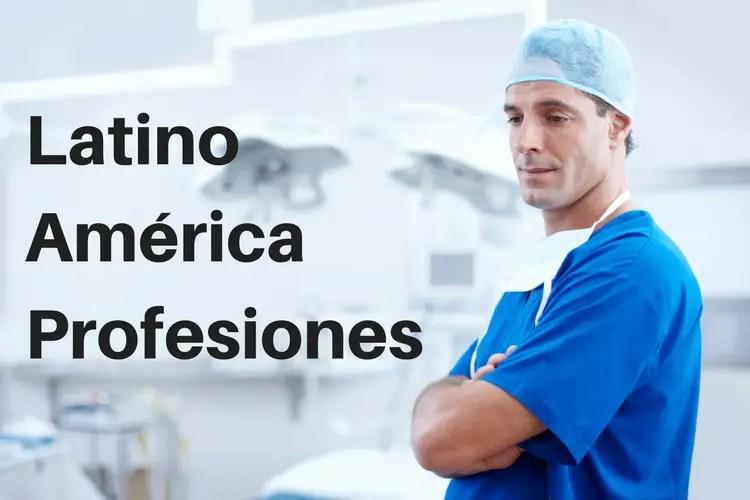 Profesiones en Latin America