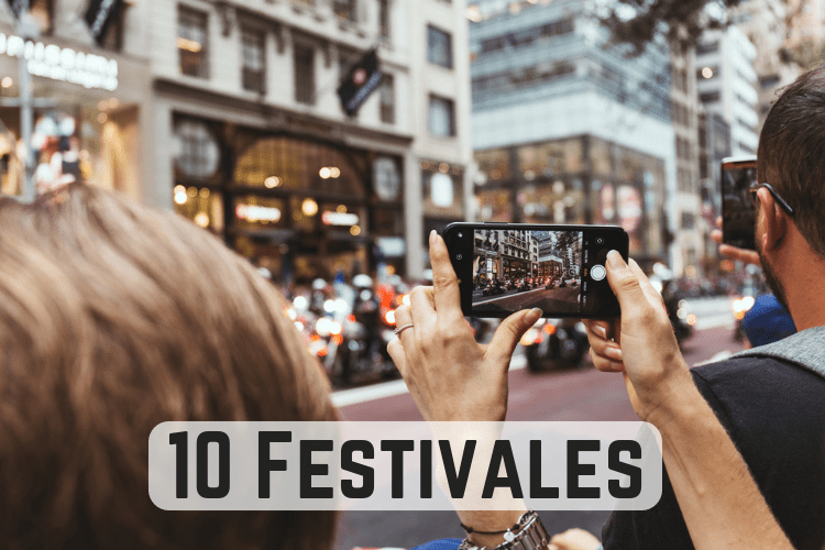 10 Festivales