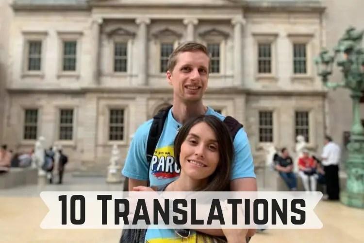 10 translations
