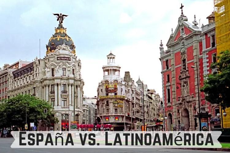 España y de Latinoamérica