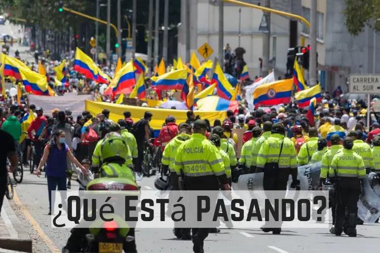 ¿Qué Está Pasando en Colombia