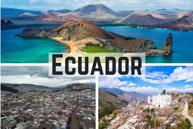 Ecuador 10 Mejores Lugares para Visita