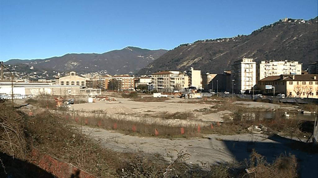 L'area ex ticosa a Como