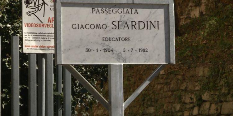 L'intitolazione della passeggiata di viale Varese a Sfardini