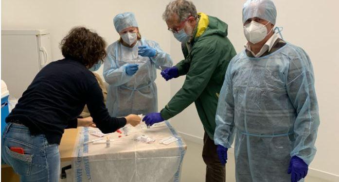 preparazione vaccini Figino