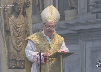 monsignor Oscar Cantoni vescovo di Como omelia di Pasqua