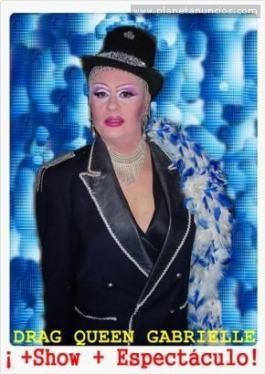 Drag queen Gabrielle showman