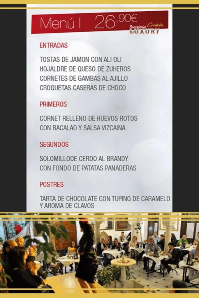 Cena restaurante despedidas en Córdoba