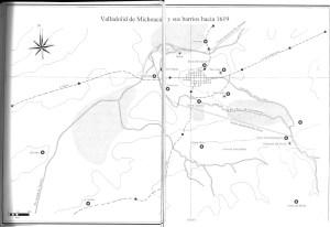 Valladolid de Michoacán y sus barrios hacia 1619