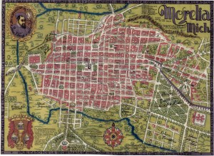 Morelia, Mich. Por Justino Fernández, 1934.